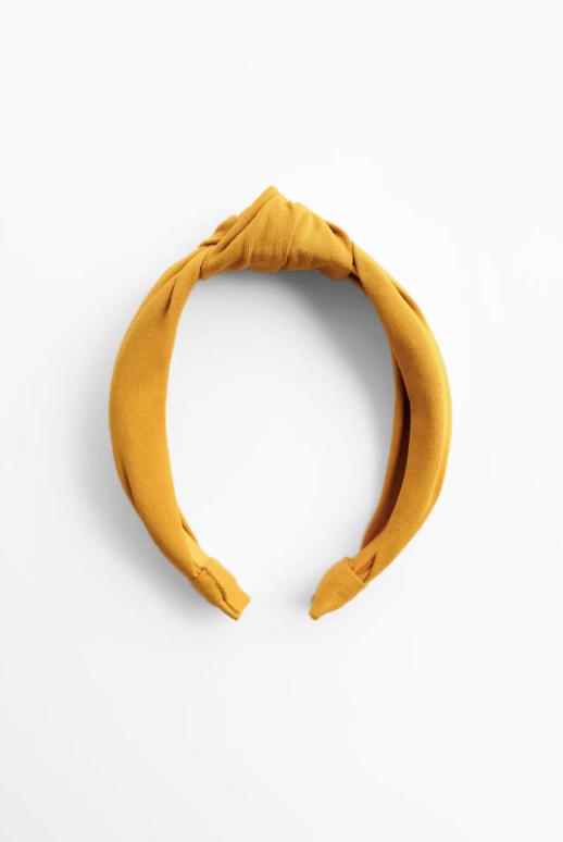 bandolete amarelo torrada da zara