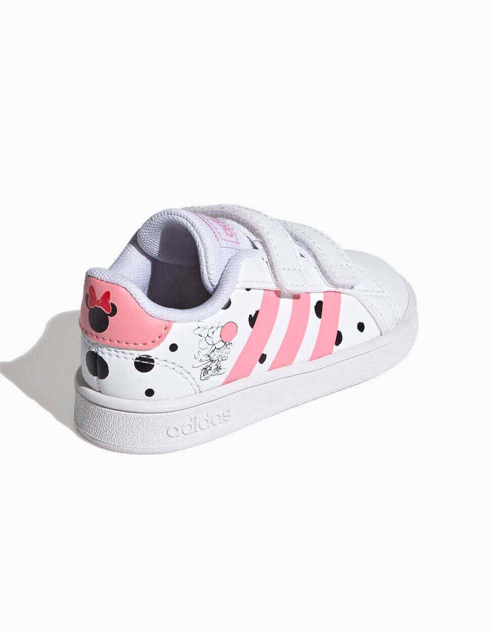 sapatilhas da adidas de criança com desenhos da Minnie