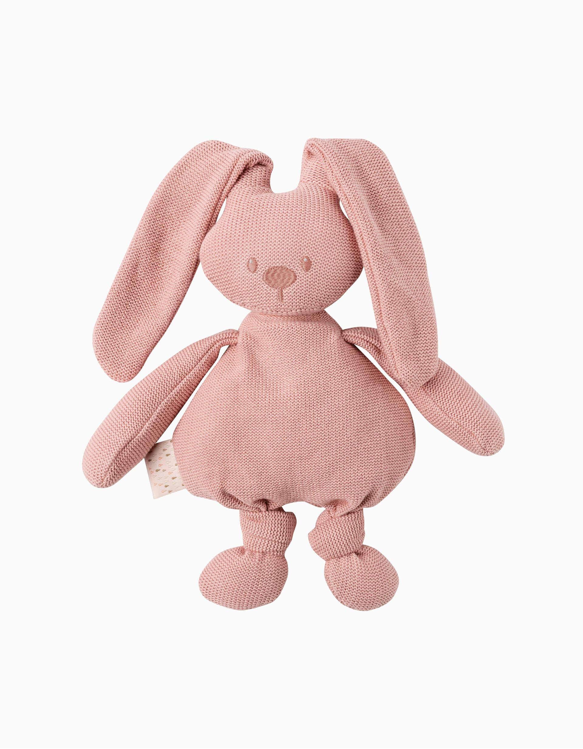 peluche coelho cor de rosa da zippy