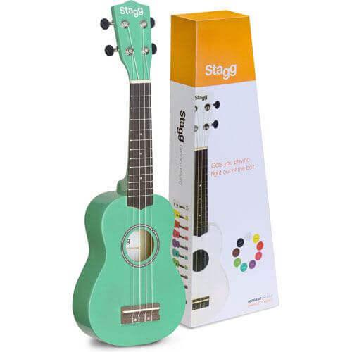 ukulele verde água da fnac