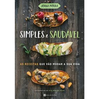 """Capa do livro """"simples e saudável"""" de Joana moura"""