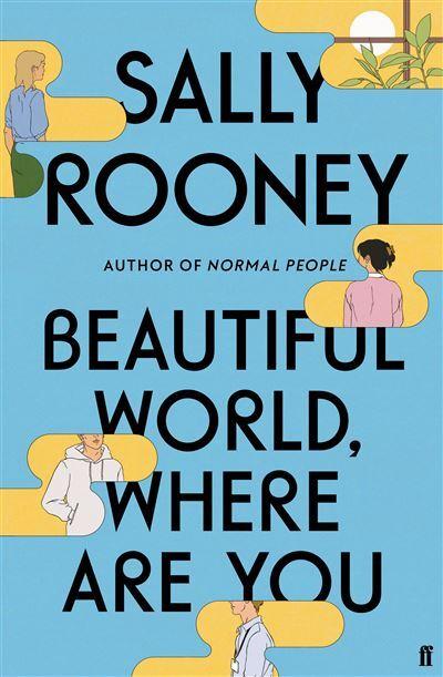 Capa do livro Beautiful World Where Are You, de Sally Rooney