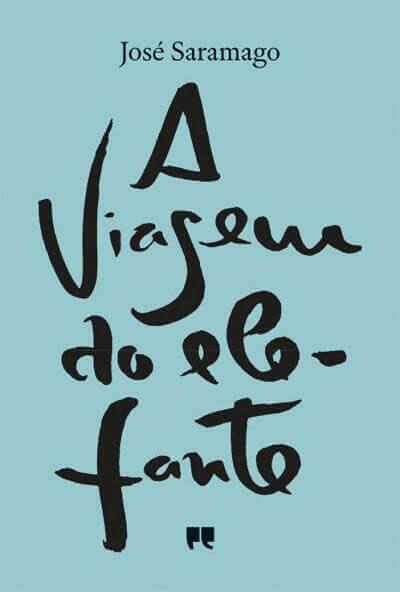 Capa do livro A Viagem do Elefante de Saramago